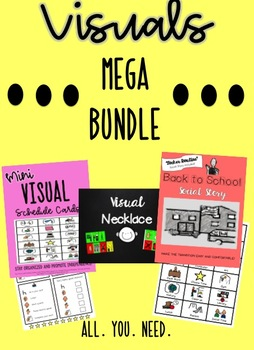 Visuals for Autism Classroom MEGA BUNDLE!
