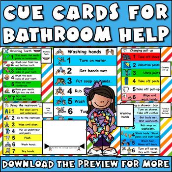 Bathroom Visuals MEGA Set: Autism, Aspergers, Potty Training, Hygiene