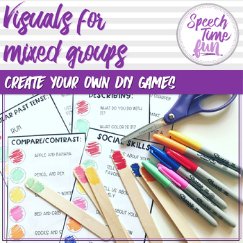 Visuals for Mixed Groups - Create Your Own DIY Game