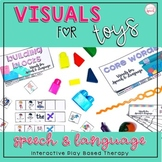 Visuals for Toys ULTIMATE Pack {Speech Therapy & SPED}