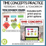 Time Concepts Yesterday, Today, Tomorrow Bundle of Print V