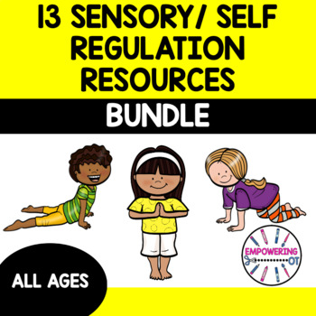 9 downloads for sensory, self regulation $20 for $43 of material 123 pgs