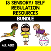 SENSORY / SELF REGULATION BUNDLE ... 13 downloads... SPED OT prek 1 2 3 4 5