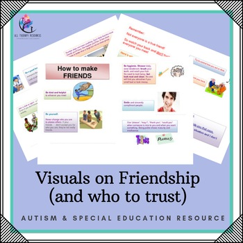 Visuals on Friendship and Who to Trust