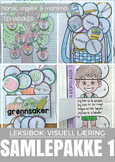 Visuell læring: SAMLEPAKKE 1 - LEKSI-bokserien