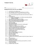 Vital Signs Key Term Quiz