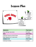 Vital Signs Lesson