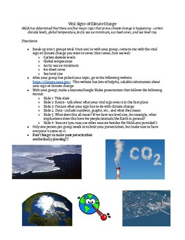 Vital Signs of Climate Change