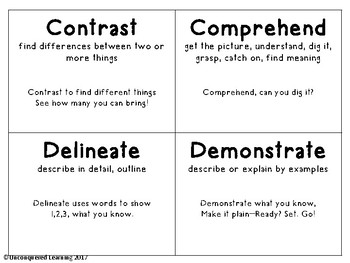 Vital Vocabulary