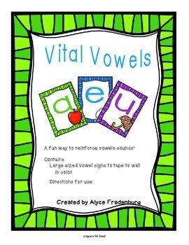 Vital Vowels in the Corner