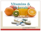 Vitamins and Minerals ppt