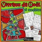 Vitraux de Noël : projet d' arts plastiques