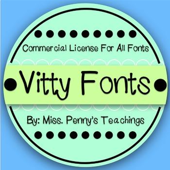 Vitty Fonts