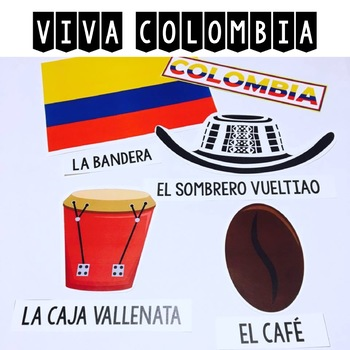 Viva Colombia {Classroom Deco and Photo Booth Props}