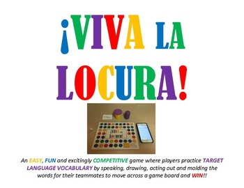 Viva La Locura - Vocabulary Review Game