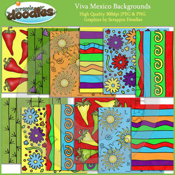 Viva Mexico Backgrounds