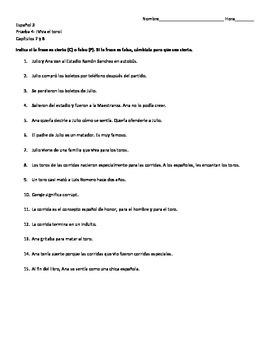 Viva El Toro Worksheets & Teaching Resources | Teachers Pay