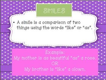 Vivacious Vocabulary- Similes and Metaphors