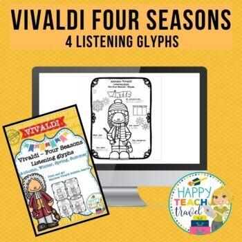 Vivaldi Four Seasons listening glyphs
