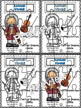 Vivaldi Puzzles (Composer of the Month)