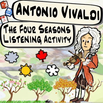 Vivaldi & the Four Seasons Classical Composer *Beginning of the Year Activity*