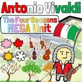 Music in History - Antonio Vivaldi & The Four Seasons Listening Activity