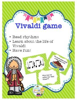 Vivaldi game and rhythm reading