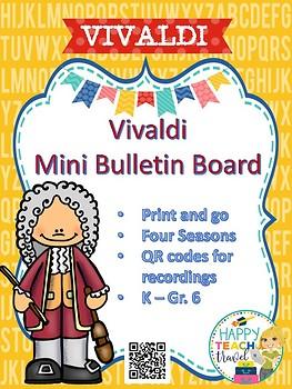 Vivaldi mini bulletin board