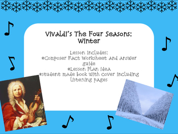 Vivaldi's The Four Seasons: Winter Music Lesson