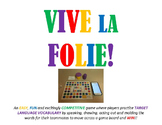 Vive La Folie - Vocabulary Review Game