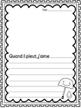 {Vive le Printemps!} 8 fun activities for Primary Immersion or Core French