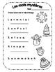 {Vive l'hiver!} 7 activités de langage pour pratiquer les