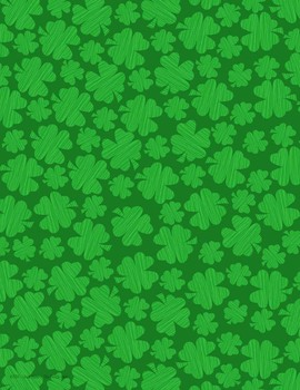 St. Patrick's Day Clipart and Digital Paper
