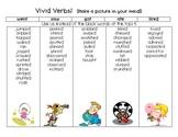 Vivid Verbs Chart