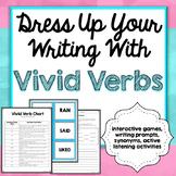 Vivid Verbs Games, Writing Prompts, Interactive Games, Com