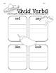 Vivid Verbs Graphic Organizer