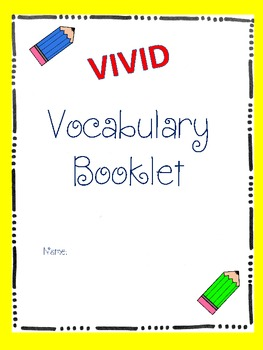 Vivid Vocabulary Booklet