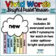 Vivid Words Bulletin Board - Synonyms for Tired, Overused Words