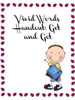 Vivid Words Handout