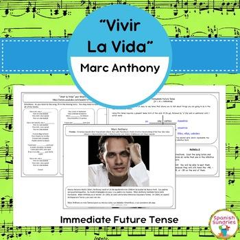 """Vivir la Vida"" and the Immediate Future Tense (Ir + a + inf)"