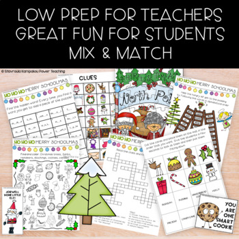 Christmas Literacy Fun! 24 days of  Activities and Games!