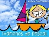 Vámonos de Pesca Sonido Inicial {Beginning Sounds Activities in Spanish}