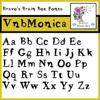 VnbMonica Font