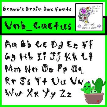 Vnb_Cactus Font