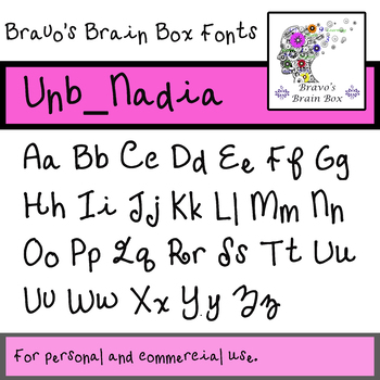 Vnb_Nadia Font