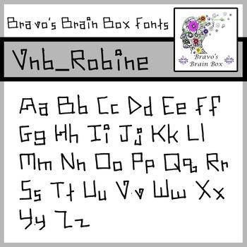 Vnb_Robine Font