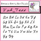 Vnb_Tess Font