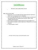 VoCARDulary - Perimeter, Area, Volume
