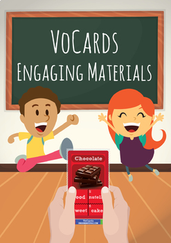 VoCards 252 X 2 Vocabulary Cards Game (updated regularly)