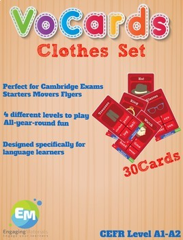 VoCards Clothes Set Taboo
